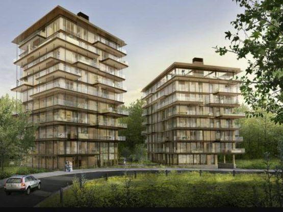 """Le projet Balcons en forêt, lauréat du concours """"Immeuble à vivre bois"""""""