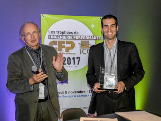 Amoès lauréat du trophée de l'ingénierie Performante au Salon Interclima