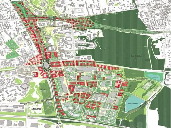 Amoès est dans l'équipe lauréate de la maîtrise d'oeuvre urbaine de la cité Descartes