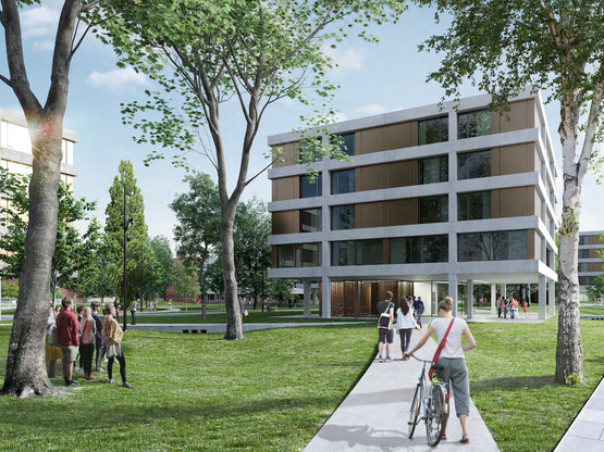Amoès lauréat du concours pour une résidence étudiante sur le campus de l'École Polytechnique