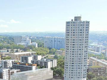 Rénovation du bâtiment U de la Tour de la Duchère à Lyon