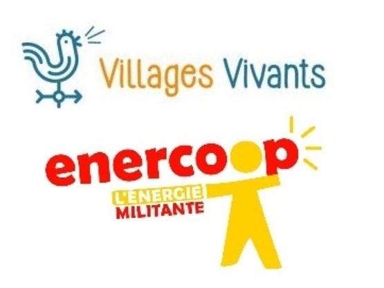 Amoès sociétaire d'Enercoop et de Villages vivants !