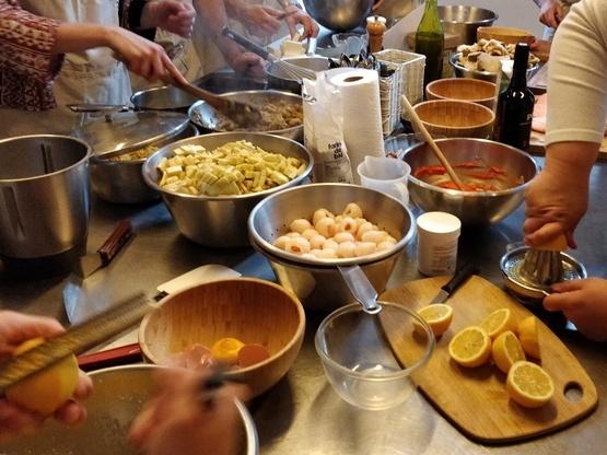 Amoès fête ses 12 ans en cuisine