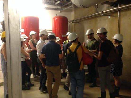Amoès en visite d'installations d'énergies renouvelables