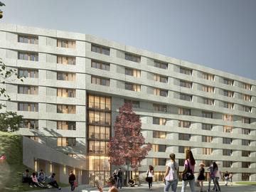 Construction de deux résidences étudiantes (550 logements) à la Cité Internationale Universitaire de Paris