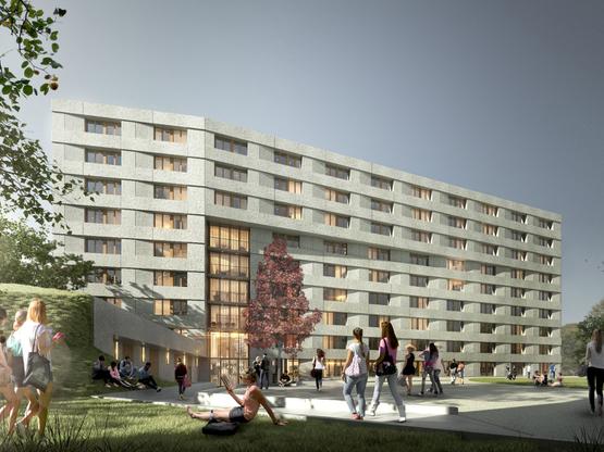 Amoès, DB IMMOBILIER,  lauréat pour la construction de deux résidences étudiantes à la Cité Universitaire de Paris
