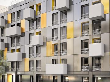 Construction de 2 immeubles de bureau et d'une résidence étudiante de 150 chambres