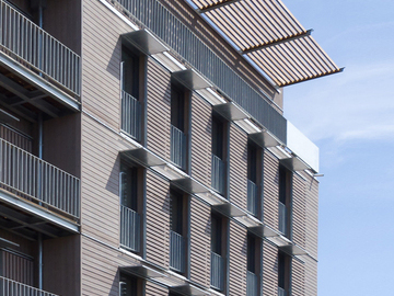 Construction de 17 logements collectifs et de 2 bureaux certifiés PassivHaus