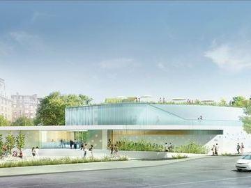CREM pour la construction de la piscine et boulodrome Elisabeth