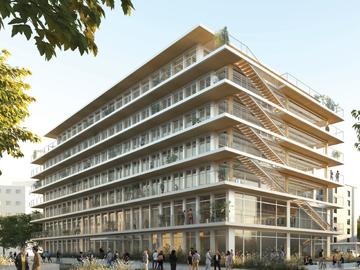 Construction de la Cité Numérique à Clermont Ferrand