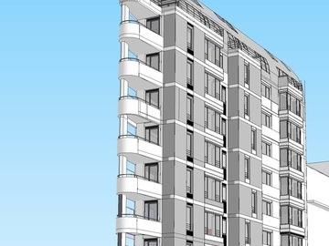 Construction 18 logements à Paris