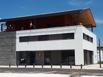 Construction de la mairie de Génissieux