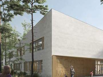 Construction d'un groupe scolaire, d'une ludothéque et d'un centre de loisirs (éco-quartier de la Pointe de Trivaux)