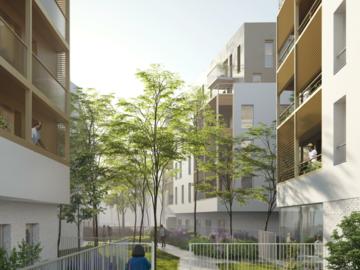 Construction d'une résidence pour personnes âgées, d'une résidence et de locaux d'activité