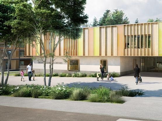 Des nouvelles des quartiers bas carbone et d'un groupe scolaire E4-C2