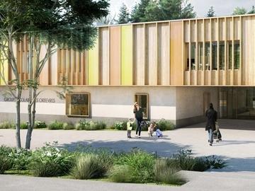 Construction d'un groupe scolaire E4-C2 à Trévoux