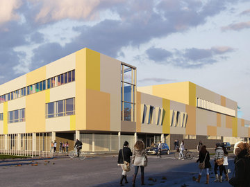 MPGP Collège de Valenton certifié Passivhaus
