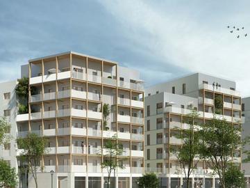 Construction de 74 logements, ZAC des bords de Seine