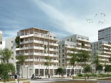 Construction de 74 logements, ZAC des bords de Seine