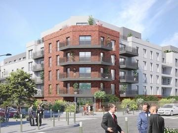 Construction de 268 logements, une résidence étudiante et bureaux