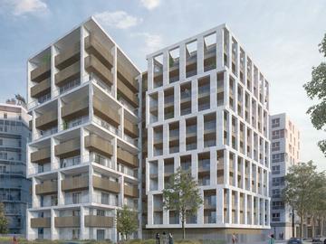 Construction de 54 logements, ZAC du Bac d'Asnières