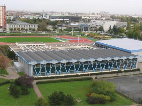 Amoès lauréat de l'AMO rénovation pour le Centre Sportif Universitaire de l'Université Paris Nanterre