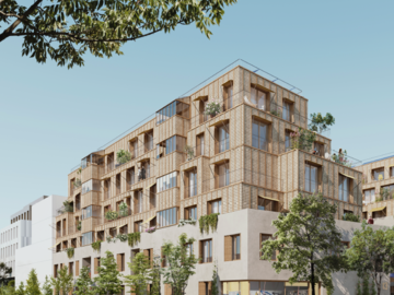 "Construction de 60 logements ""Triple Zéro"" à Paris"
