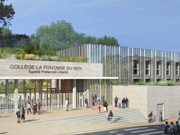 MPGP Réhabilitation du Collège la Fontaine du Roy Ville d'Avray