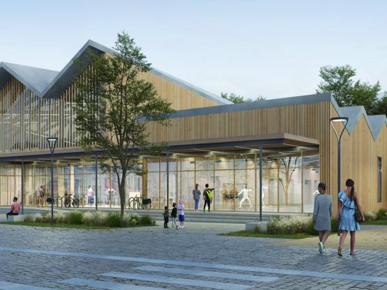 Amoès travaille sur un nouveau gymnase à Bordeaux !